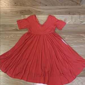 Remie Girl pocket twirl dress